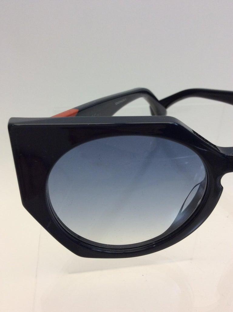 Fendi Navy Blue Sunglasses For Sale 1