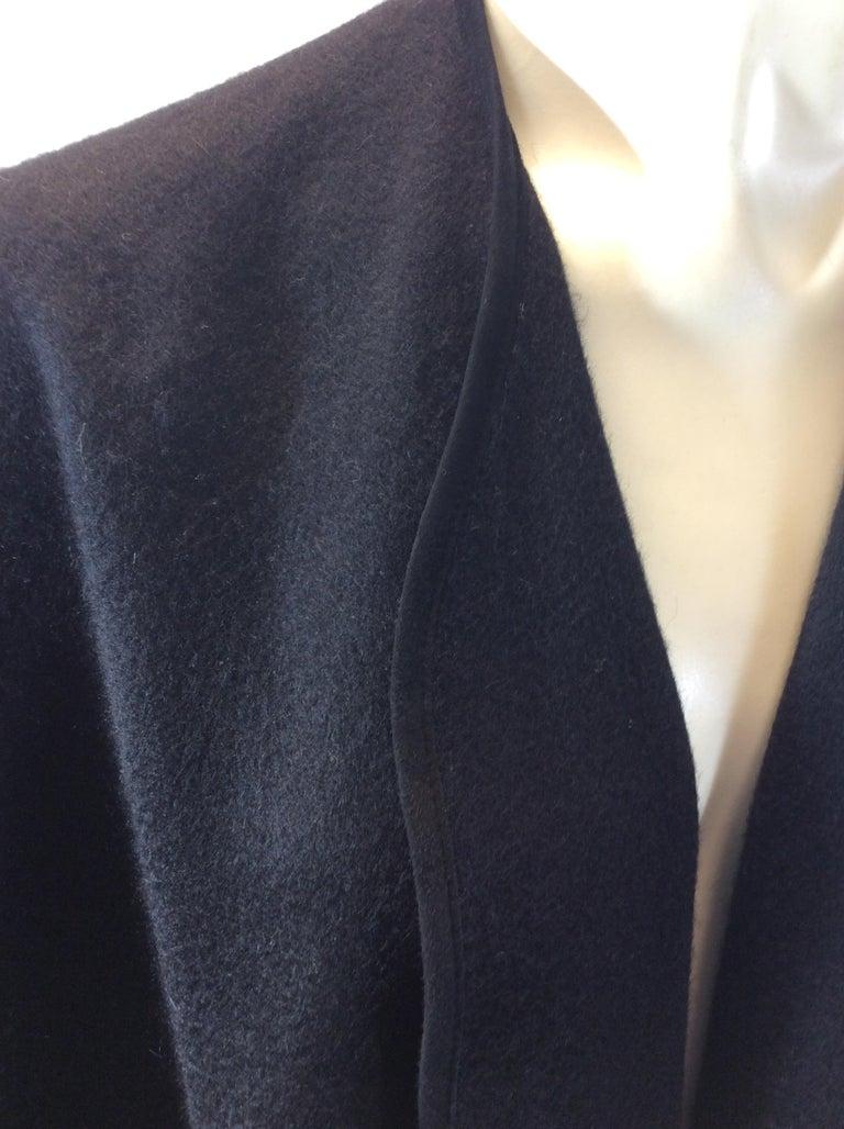 Loro Paina Black Cashmere Shawl For Sale 1
