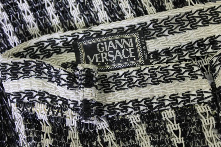 Unique Gianni Versace Couture Punk Striped Pants Fall 1993 5