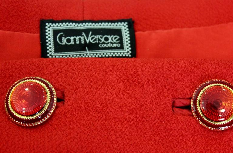 Rare Gianni Versace Couture Nautical Waistcoat Spring 1993 5