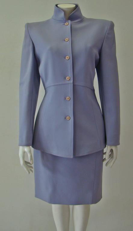 Claude Montana Lavender Skirt Suit 2
