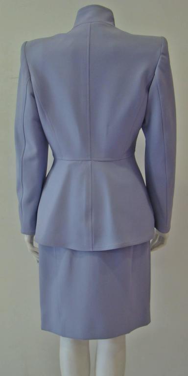 Claude Montana Lavender Skirt Suit 3