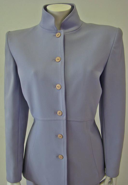 Claude Montana Lavender Skirt Suit 5