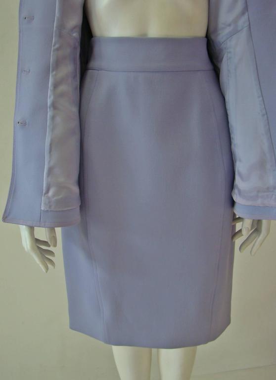 Claude Montana Lavender Skirt Suit 6