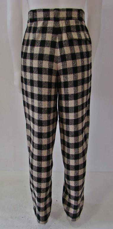 Gianni Versace Checked Pants Fall/Winter 1992 3