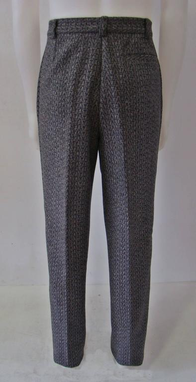 Early Gianni Versace Grey Wool Pants Fall/Winter 1986 3