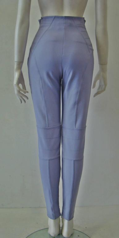 Claude Montana Lavender Stretch Leggings 4