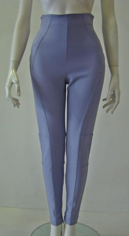 Claude Montana Lavender Stretch Leggings 2