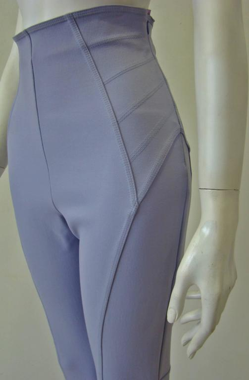 Claude Montana Lavender Stretch Leggings 3