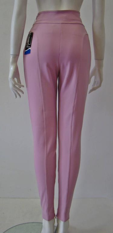 Claude Montana Pale Pink Stretch Leggings 4