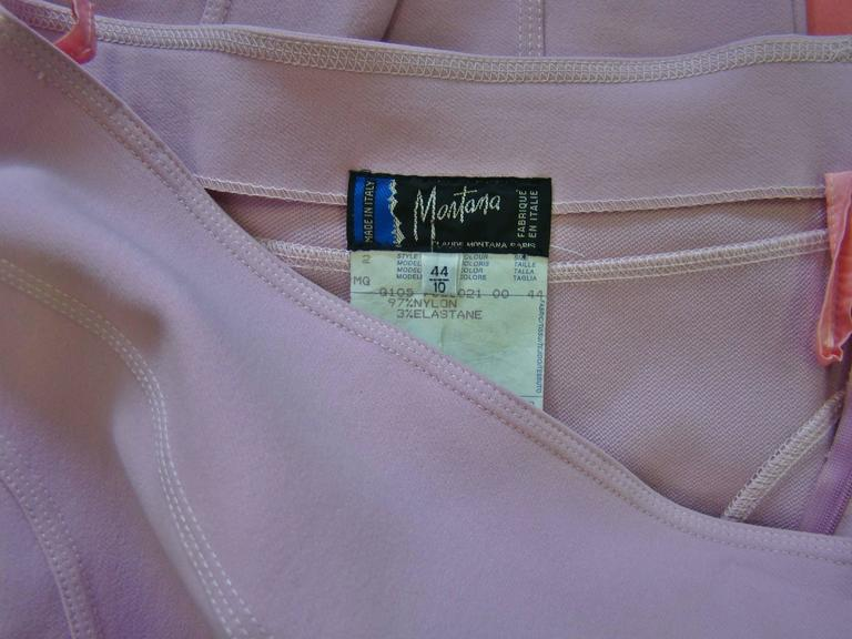 Claude Montana Pale Pink Stretch Leggings 5