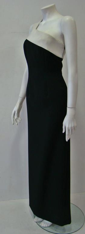 Rare Angelo Mozzillo Column Evening Gown Spring 1999 4