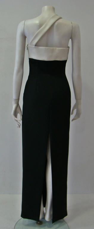 Rare Angelo Mozzillo Column Evening Gown Spring 1999 5