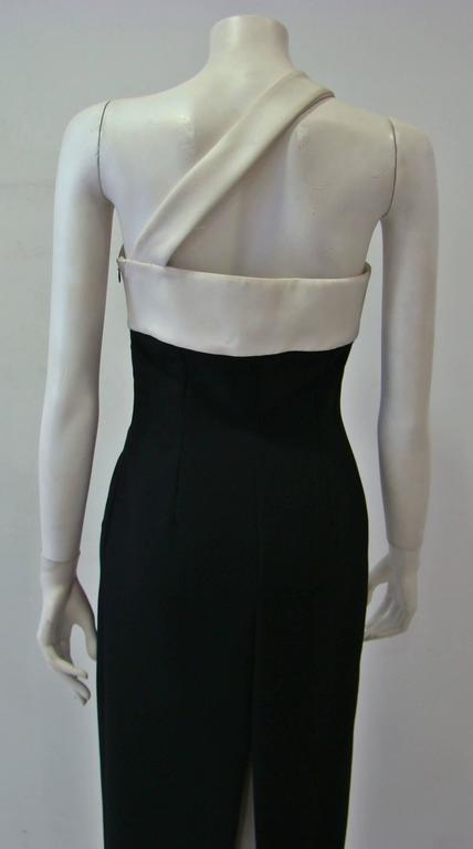 Rare Angelo Mozzillo Column Evening Gown Spring 1999 6