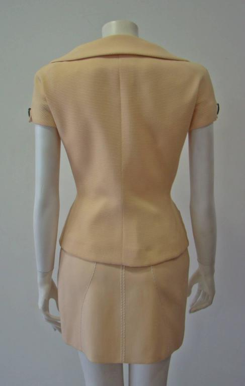 Women's Gianni Versace Couture Double Breasted Jacket Spring 1995 For Sale