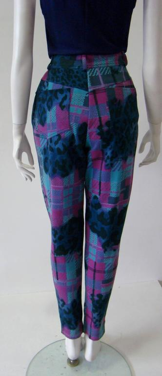 Gianni Versace Sport Printed Jeans For Sale 2