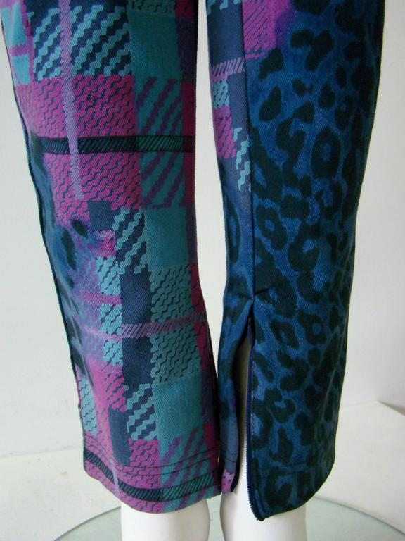 Women's Gianni Versace Sport Printed Jeans For Sale