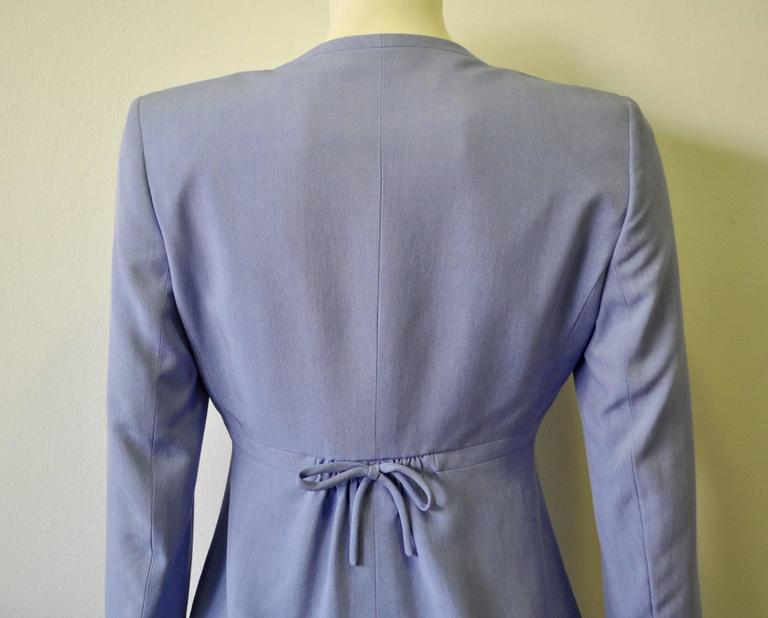 Gianni Versace Couture Silk Pantsuit For Sale 1