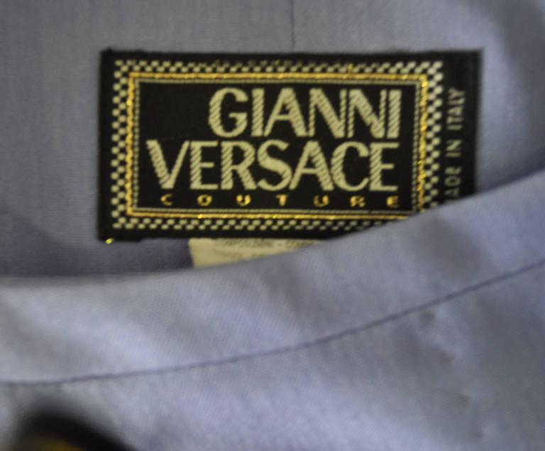 Gianni Versace Couture Silk Pantsuit For Sale 2
