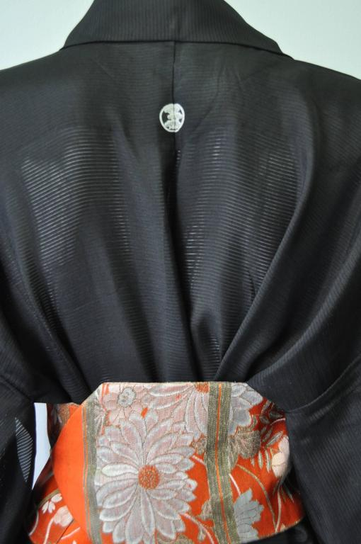 Authentic Hand Made Japanese Kimono from Tokyo For Sale 1