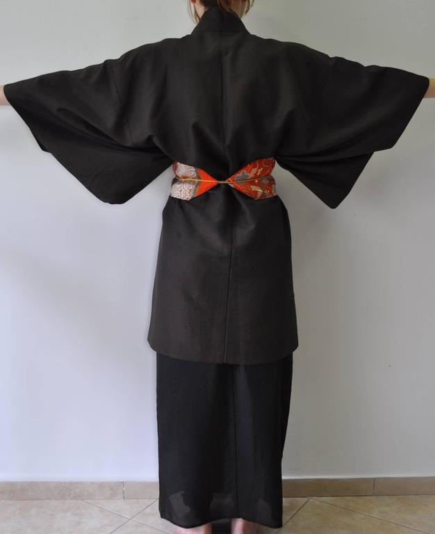 Women's Authentic Hand Made Japanese Kimono from Tokyo For Sale