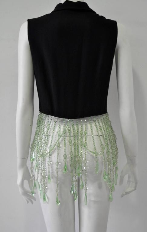 Very Unique Dolce & Gabbana for Complice Beaded Waistcoat Vest 4
