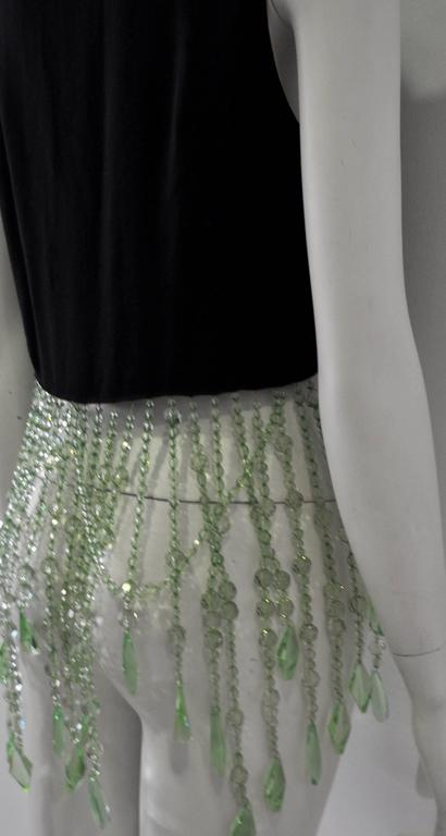 Very Unique Dolce & Gabbana for Complice Beaded Waistcoat Vest 6