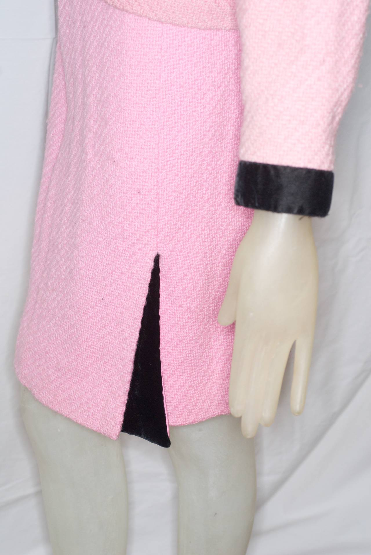 Chanel haute couture pink jacket and skirt at 1stdibs for Chanel haute couture price range