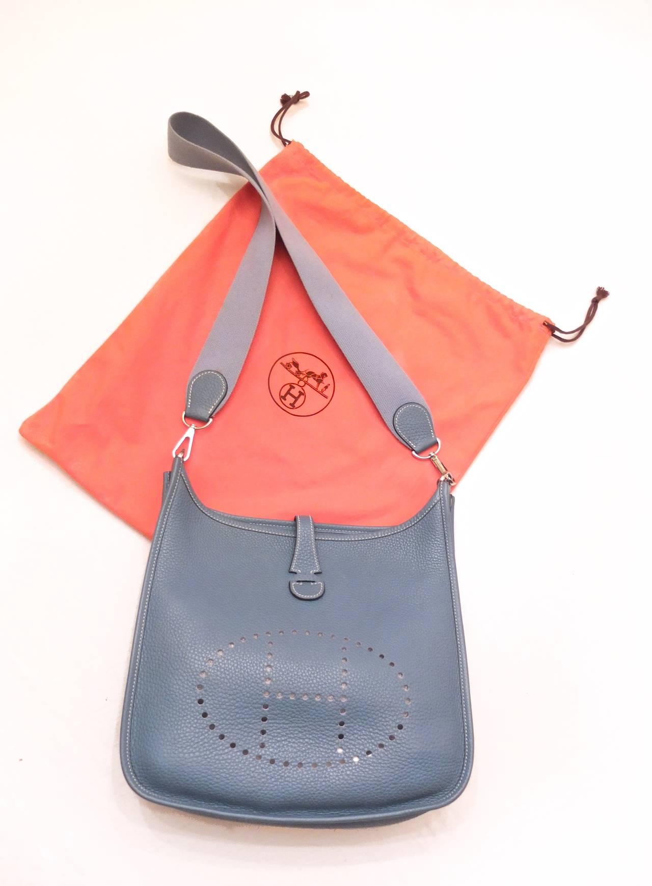Hermes Evelyne Cross Body Bag at 1stdibs