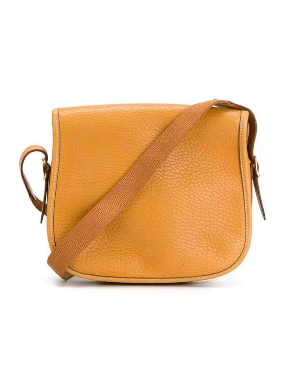 Rare Hermes Duffle Bamboo Handbag 1983 2