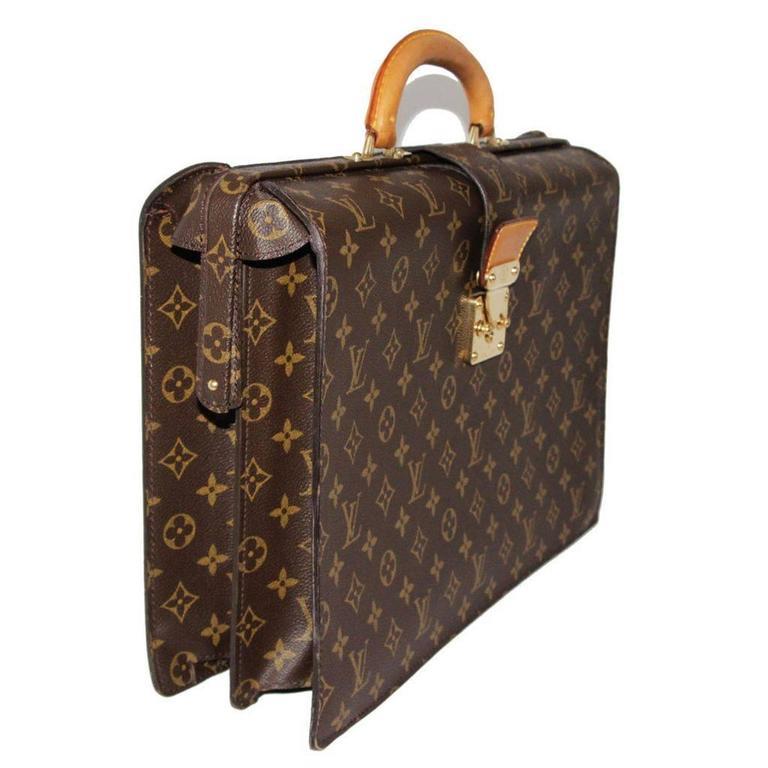 Louis Vuitton Serviette Fermoir Briefcase at 1stdibs