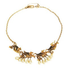Christian Dior Collectable 'Pegasus' Necklace by Michell Maer 1950