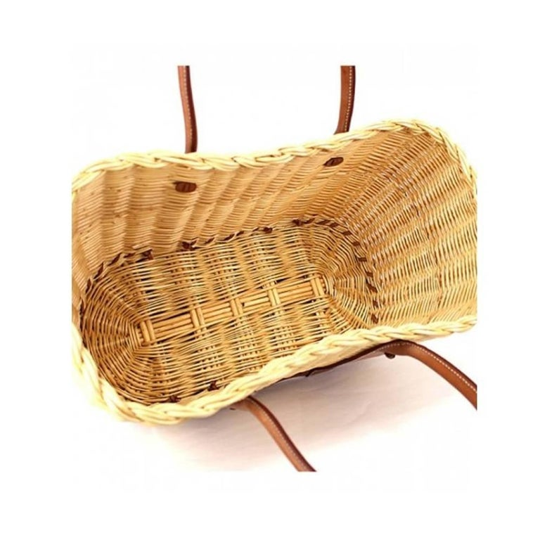 The Garden Party Hermes Wicker basket bag 2