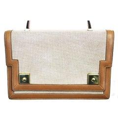 The Hermes Piano Handbag with shoulder strap 60s