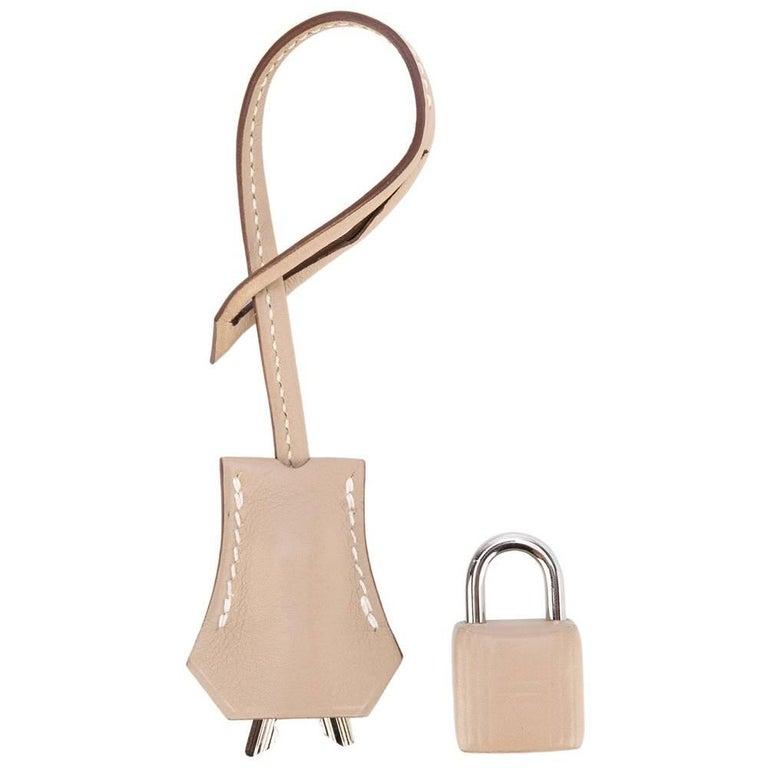 Hermes Lock and Clochette Argile Swift