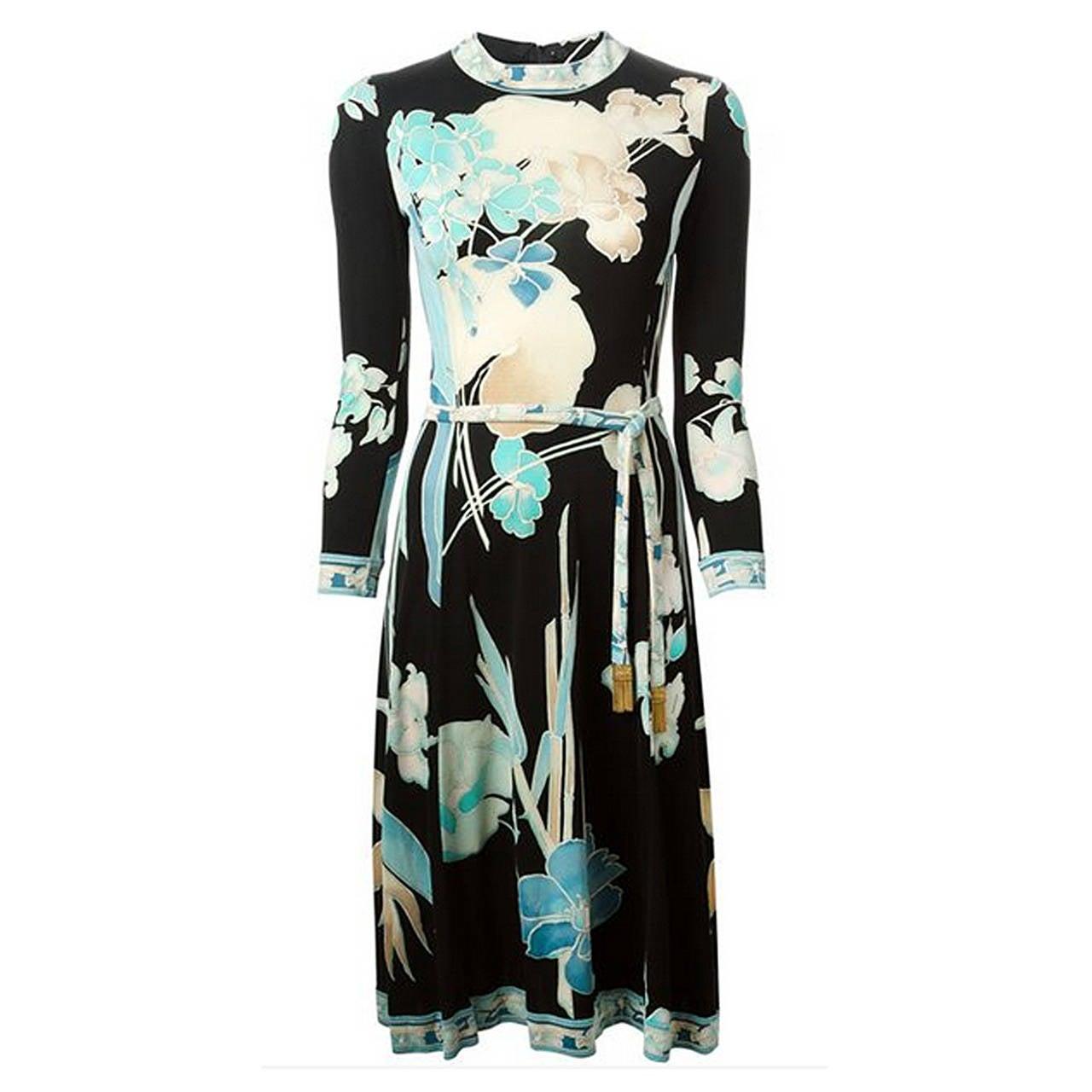 Gorgeous Leonard 70s Flower Dress 1