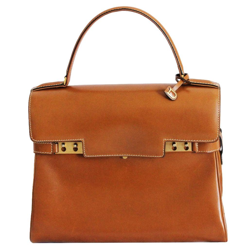 Stunning Delvaux Tempête Handbag at 1stdibs
