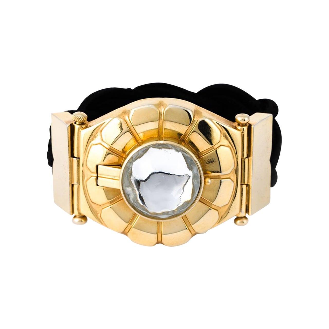 YSL Perfume Bracelet 1980 For Sale