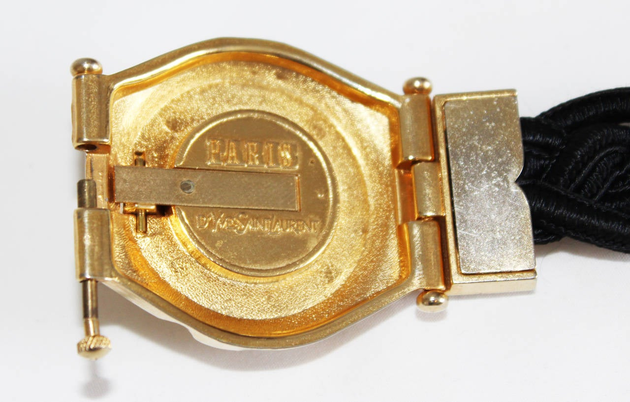 YSL Perfume Bracelet 1980 In Excellent Condition For Sale In Verviers, BE
