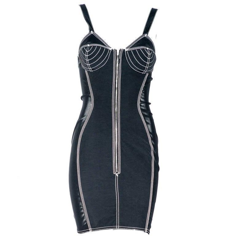 80s Jean Paul Gaultier bustier dress at 1stdibs
