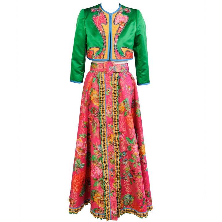 Koos van den Akker Evening Jacket & Skirt