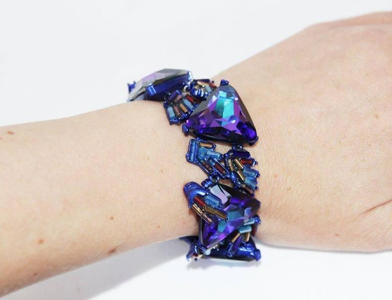 Rare & gorgeous Christian Lacroix bracelet of the 90s 4