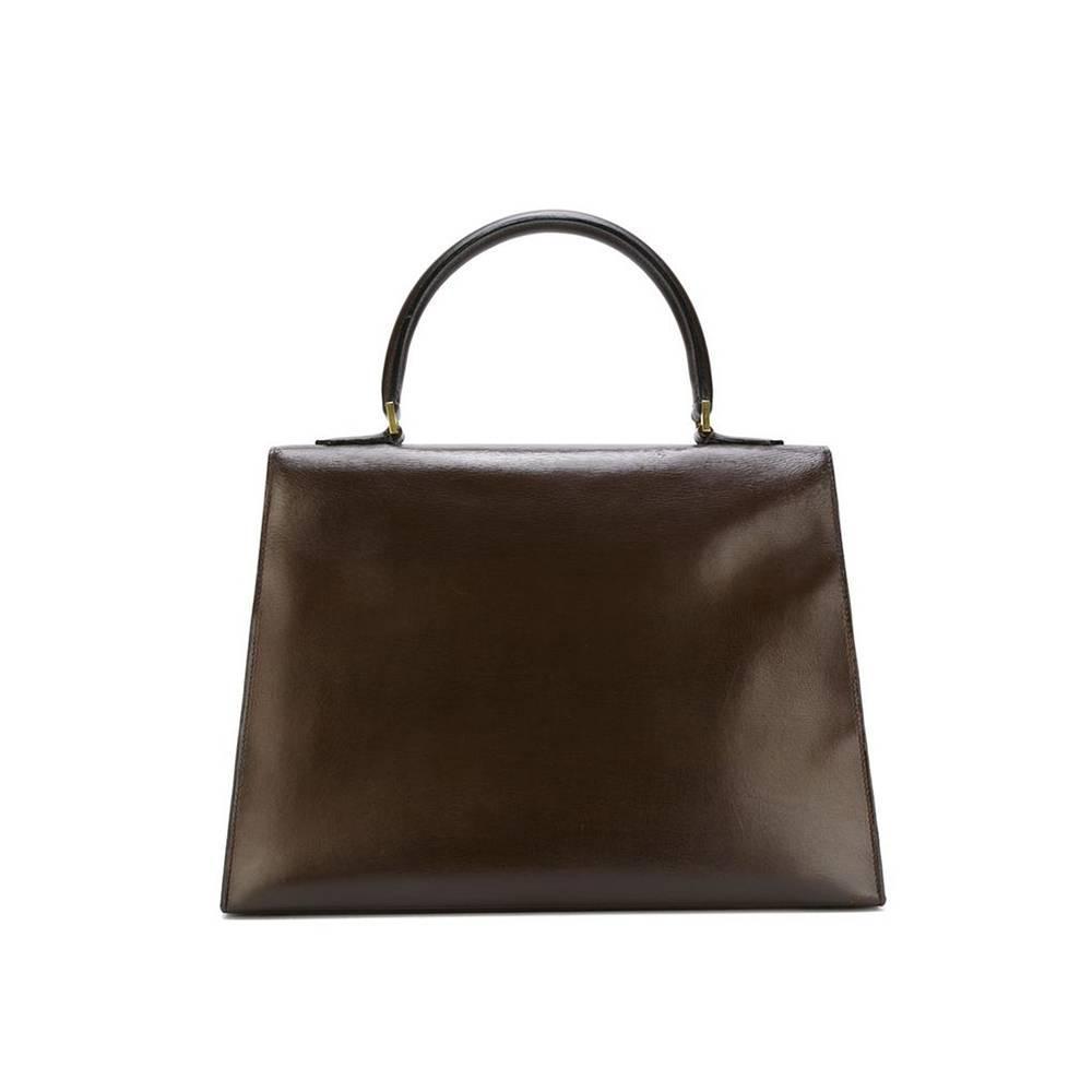 hermes saint tropez rarity vintage handbag 1967 at 1stdibs. Black Bedroom Furniture Sets. Home Design Ideas