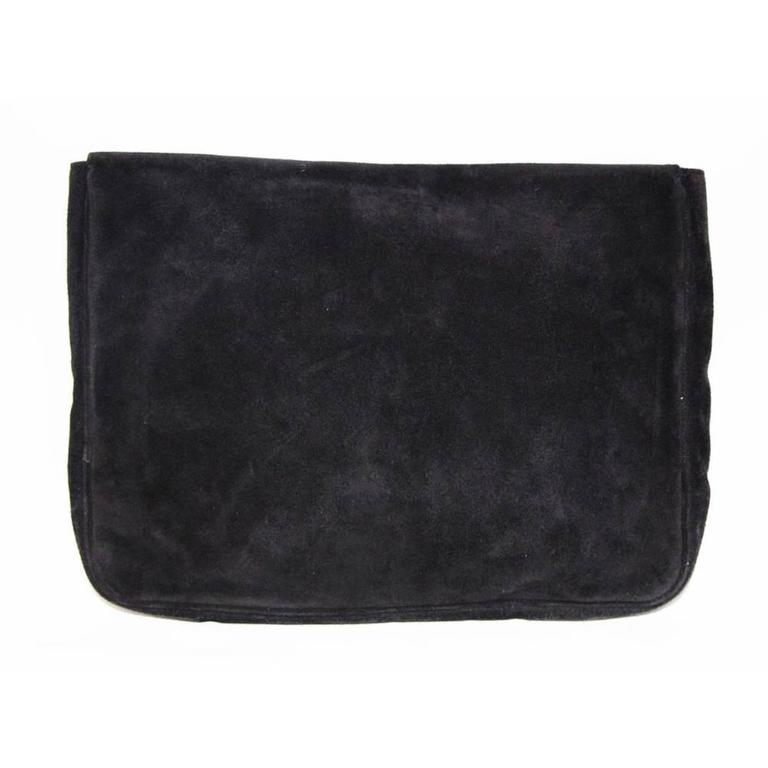Black Gorgeous and a collector piece of Sonia Rykiel clutch 80s For Sale