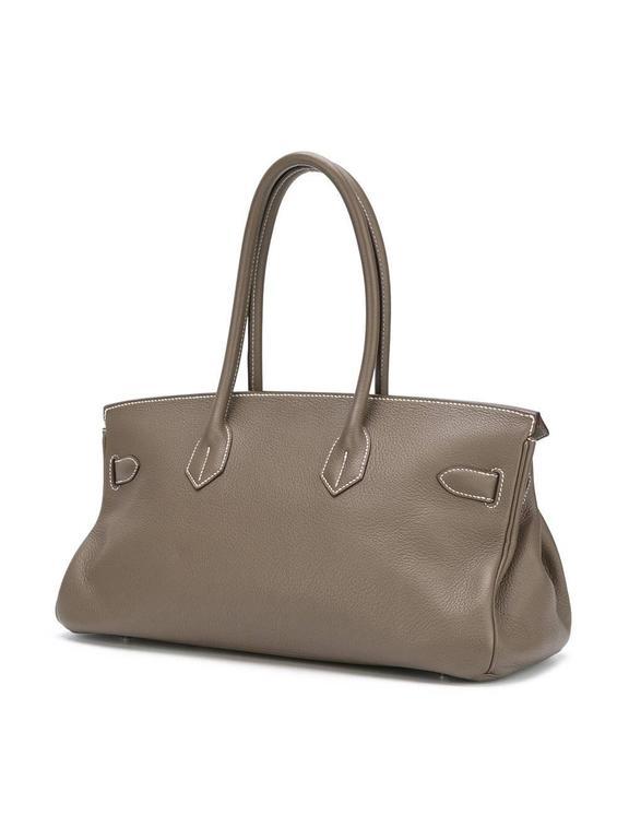 Hermes shoulder Birkin etoupe togo bag NEW condition 2