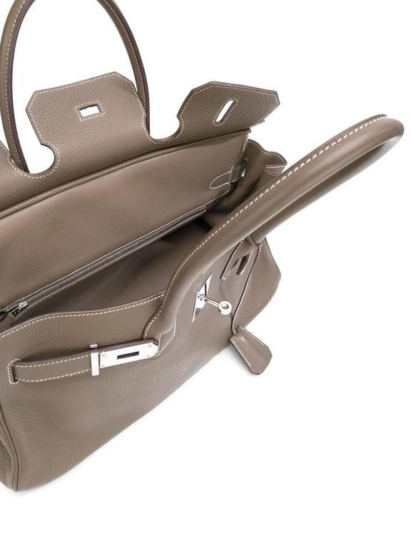 Hermes shoulder Birkin etoupe togo bag NEW condition 4
