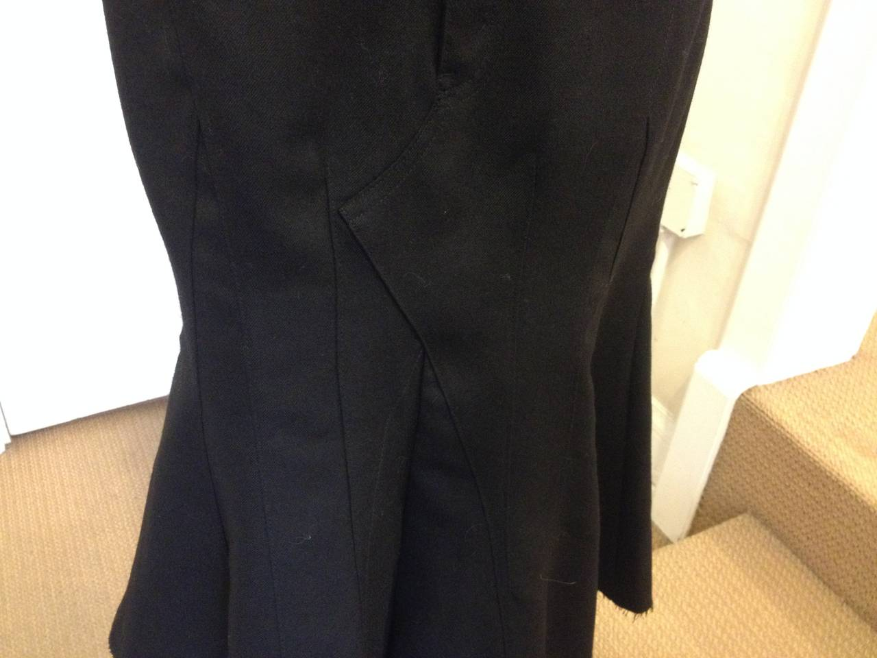 Junya Watanabe Black Flared Skirt 2