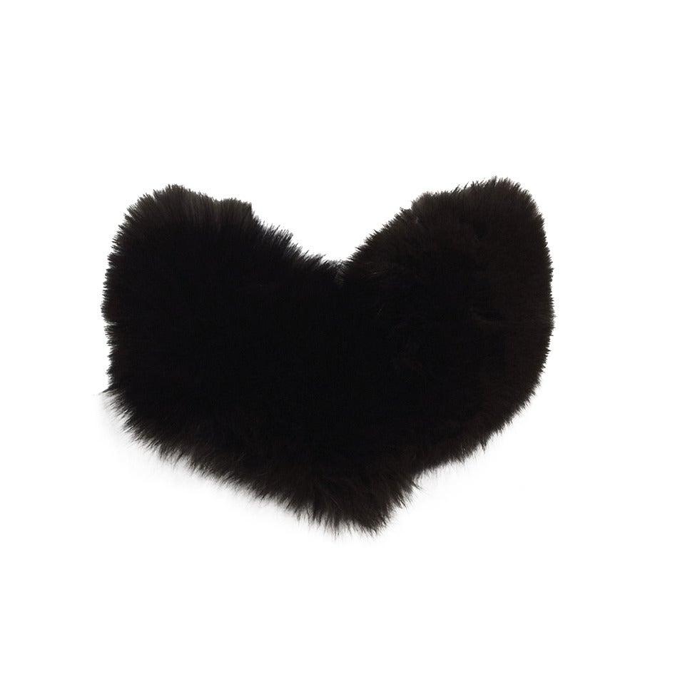 Prada Dark Brown Fox Fur Scarf 1