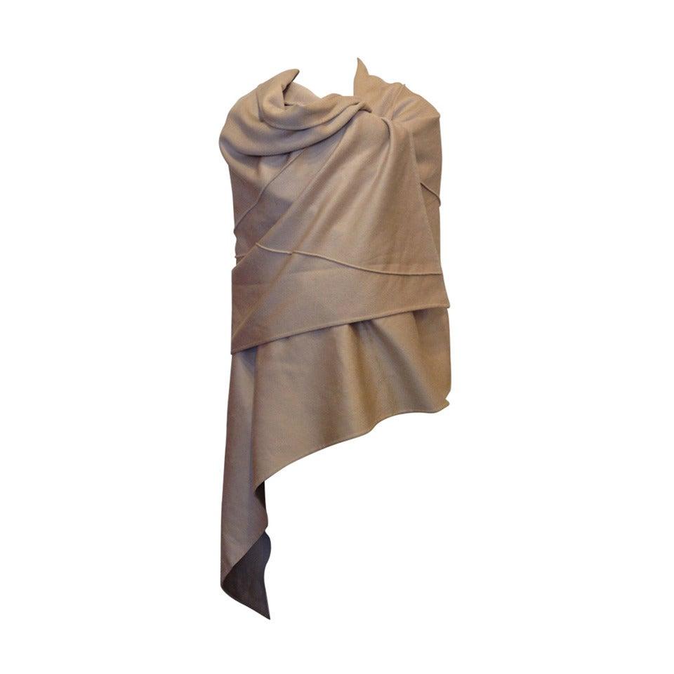 Chado Taupe Cashmere Wrap