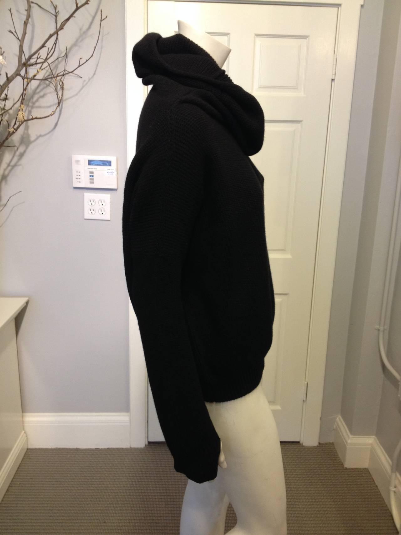 Hermes Black Turtleneck Sweater 2